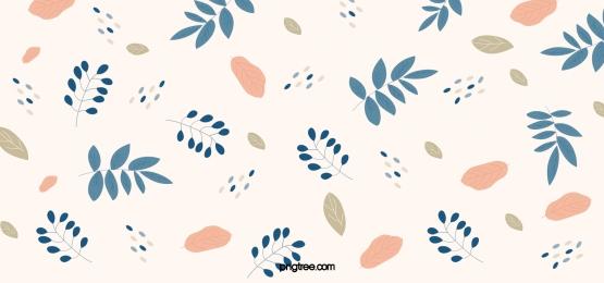 morandi color hand drawn autumn fallen leaves background, Fallen Leaves, Plant, Morandisse Background image