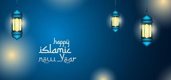 मोहर्रम इस्लामिक न्यू ईयर बैकग्राउंड बैनर डिज़ाइन जिसमें गोल्डन शेप आभूषण है, इस्लामी, सजावट, चित्रण पृष्ठभूमि छवि