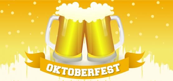 nền ok / 10fest với hai loại bia, Logo Tháng Mười, Nền Tháng Mười, Ăn Mừng. Ảnh nền