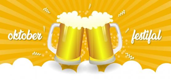 ok / 10fest với hai loại bia, Logo Tháng Mười, Nền Tháng Mười, Ăn Mừng. Ảnh nền