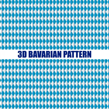 3d bavarian seamless pattern , Print, Card, Festival Background image