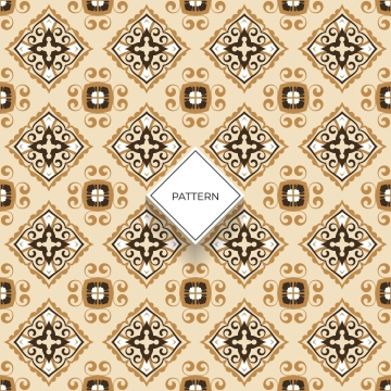 decorative tile pattern design  vector illustration , Background, Square, Arabesque Background image