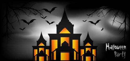 हैलोवीन पार्टी लाइट वेक्टर पृष्ठभूमि, चमगादड़, रक्त, पोशाक पृष्ठभूमि छवि