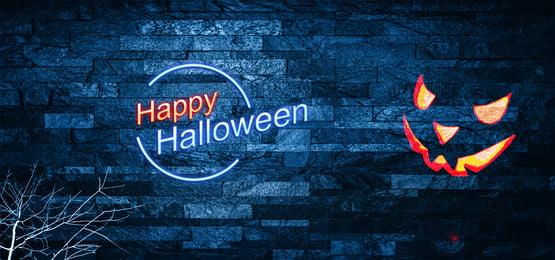 happy halloween in dark wall, Happy Halloween, Dark, Wall Background image
