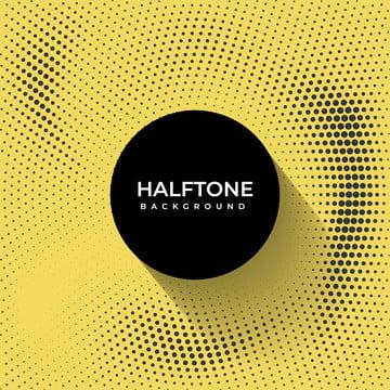 黄色と黒のハーフトーンパターン設計 , スタイル, 背景, ハーフトーン 背景画像