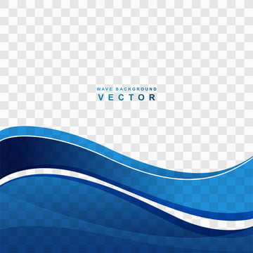 abstract blue wave transparent background vector , Abstract, Background, Backdrop Background image