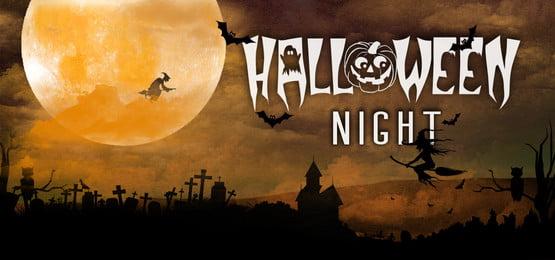हॉलिडे नाइट बैनर, हेलोवीन, Helloween, पृष्ठभूमि पृष्ठभूमि छवि