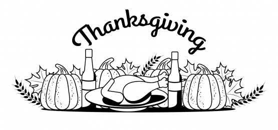 latar belakang monochrome kesyukuran, Thanksgiving, Hari, Sambutan imej latar belakang