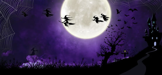 witch party halloween night background, Jack O Lentera, Pesta Halloween, Background Background image