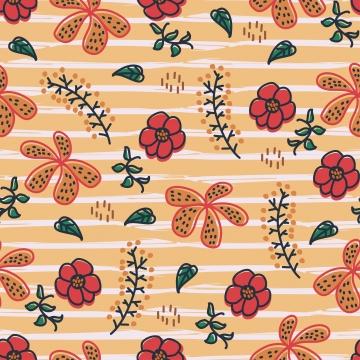 美しさ自然花のシームレスなパターン幼稚な描画スタイル , フローラル, パターン, スカンジナビアの 背景画像