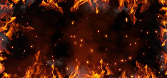 fogo de fundo, Fogo, Fumo, Flame Imagem de fundo