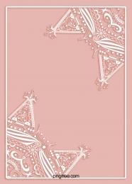 레이스 입체 종이 컷 흰색 원래 손으로 그린 테두리 , 종이를 오리다, 레이스, 웨딩 배경 이미지