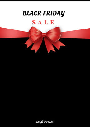 red bow black friday black and white background , Bow, White, Black Background image
