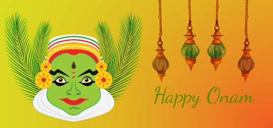 happy onam  abstract background, Candle, Card, Celebration Background image