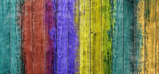 fondo de panel de madera colorido, 3d, Geometric, Grupo Imagen de fondo