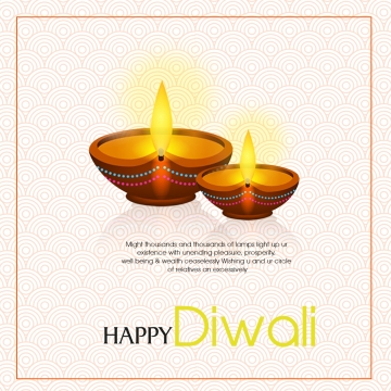 diwali greetings with   gold pattern and deepa , Diwali Whishes, Pattern, Deep Background image