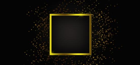 सोने की चमक के साथ सोने के चमकदार चौकोर फ्रेम, सोने, सोने के फ्रेम, सोने की चमक पृष्ठभूमि छवि