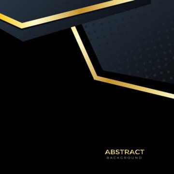 सुनहरे काले निमंत्रण कार्ड सार पृष्ठभूमि , Minimalists, लहराती, वक्र पृष्ठभूमि छवि