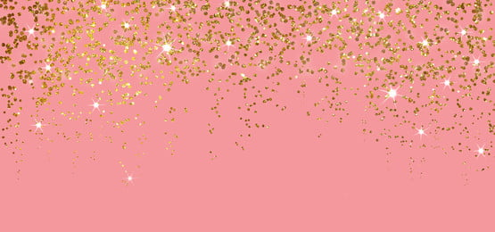 golden glitter sparkle with light in pink background, Pastel, Birthday, Party Background image