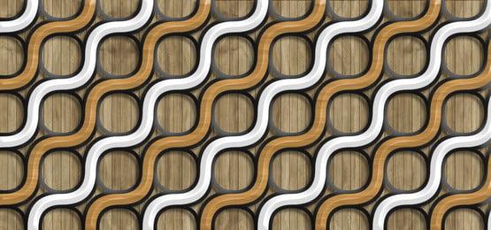 3 डी जाली पैटर्न के साथ लकड़ी की पृष्ठभूमि, 3 डी, ज्यामितीय, पैनल पृष्ठभूमि छवि