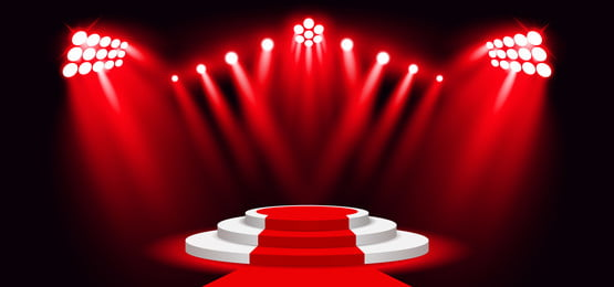 3d red carpet stage lighting background spotlight effect, Abstract, Art, Backdrop Background image