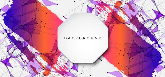 latar belakang dengan bentuk geometri, 3d, Abstrak, Latar Belakang imej latar belakang