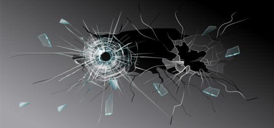 latar belakang vektor kaca pecah, Latar Belakang Gelap, Gelas, Patah imej latar belakang