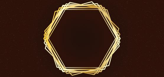 nền màu nâu với thiết kế khung vàng, Màu Nâu, Nền Màu Nâu, Khung Ảnh nền