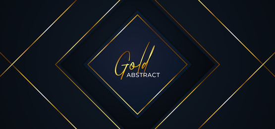 diamond square luxury paper cut background template design  abstract golden frame line badge vector illustration, Diamond, Square, Paper Background image