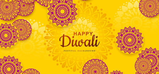 diwali festival holiday design with indian rangoli background, Abstract, Light, Diwali Background image