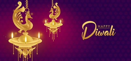 happy diwali golden oil lamp greeting background, Ornament, Sparkling, Rangoli Pattern Background image