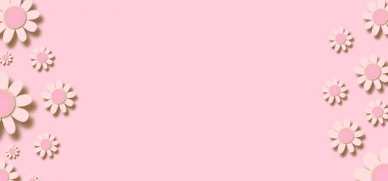 與花剪紙的淡色紙背景, 紙, 花的, 粉彩 背景圖片
