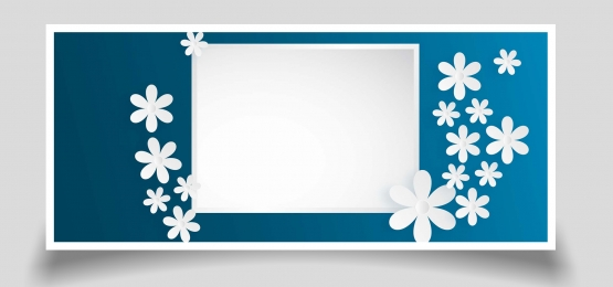 rectangle white paper flower background template, Background, White, Flowers Background image