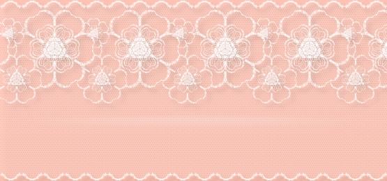 पुराने गुलाब रंग की पृष्ठभूमि पर घुमावदार ट्रिम्स के साथ सफेद फीता फूल, फीता, सफेद, फूल पृष्ठभूमि छवि