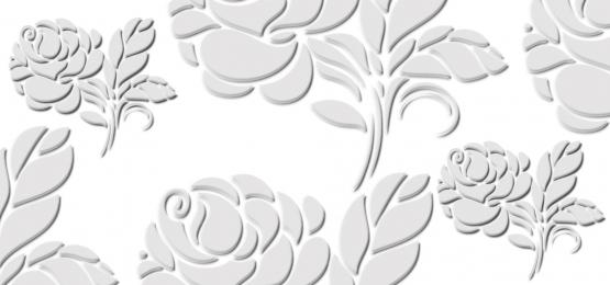 3d花卉花白色, 三維, 花的, 花 背景圖片