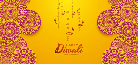 beautiful rangoli happy diwali vector background design, Abstract, Light, Diwali Background image