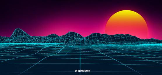 blue glitter lines digital background, Flash Of Light, Business Affairs, Technology Background image