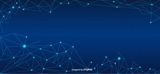 blue gradient simple technology molecular structure, Simple, Technology, Molecule Background image
