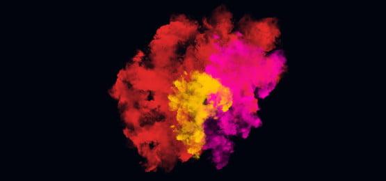 burning yellow smoke, Smoke, Fog, Smoke Clipart Background image