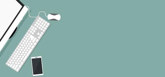 शीर्ष दृश्य में अपने कंप्यूटर पर काम करने वाले व्यक्ति की डिज़ाइन पृष्ठभूमि, टीवी, मोबाइल, लैपटॉप पृष्ठभूमि छवि