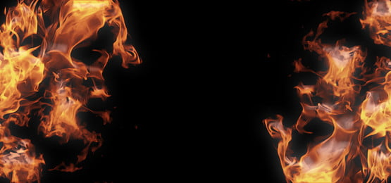 pngtree fire flames on dark background image 308363