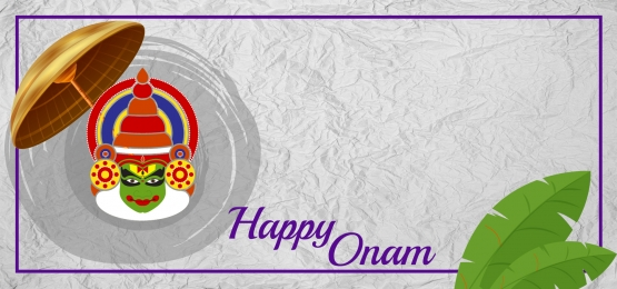 happy onam face with umbrella, Happy Onam, Leaf, Face Background image