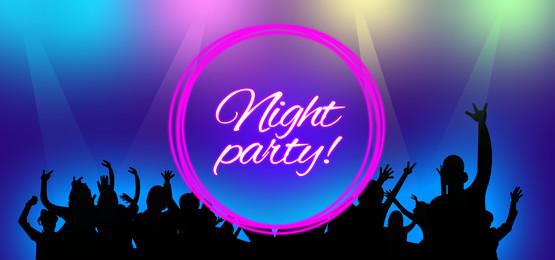 नाइट पार्टी डांस लाइट बैकग्राउंड, नृत्य, पृष्ठभूमि, पार्टी पृष्ठभूमि छवि