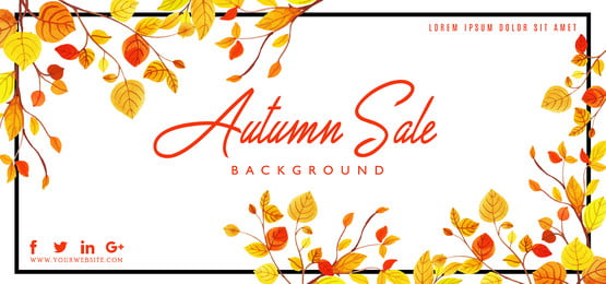sale abstract autumn background, Watercolor, Paint, Painted Background image