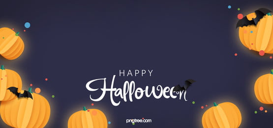 Horizontal Vector Halloween Banner Background With Grunge Border Banner Border Halloween Background Image For Free Download