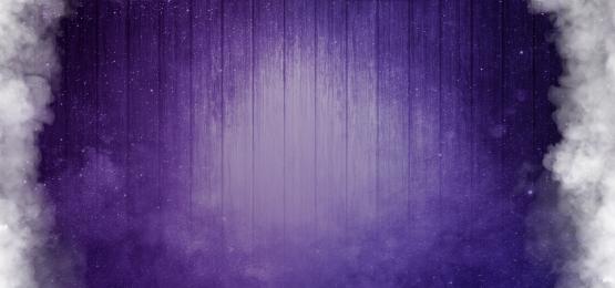 nền màu tím khói với các tấm gỗ và những đám mây, Nền, Bìa, Băng Cờ Ảnh nền