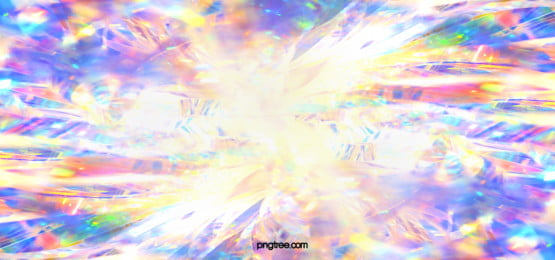 watercolor holographic rainbow banner background, Light Film, Colourful, Iridescent Color Background image