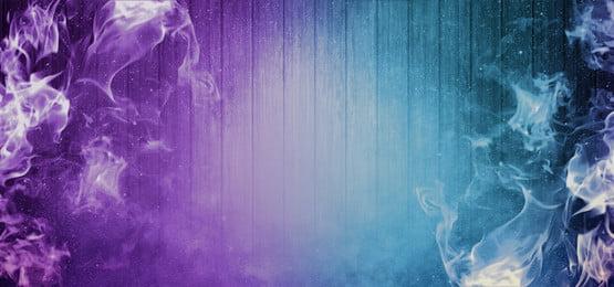 लकड़ी की पृष्ठभूमि पर सार बैंगनी और नीली आग, सार, पृष्ठभूमि, बैनर पृष्ठभूमि छवि
