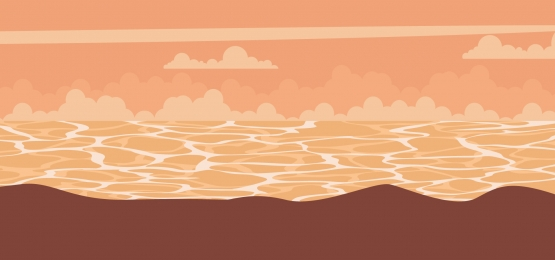 background of a landscape of a sunset at sea, Sunset, Beach, Sailboat Background image