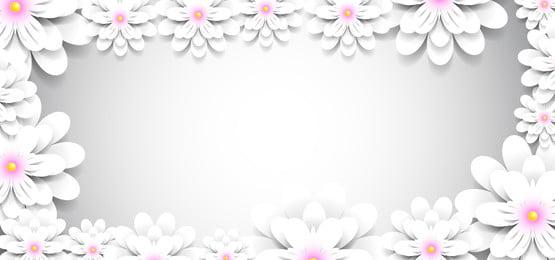 カラー花紙背景装飾的な紙の花, グラフィック, 体積, カットアウト 背景画像